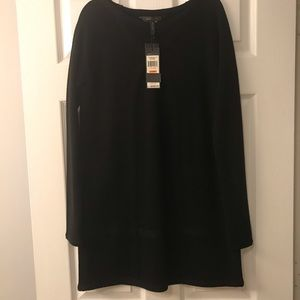 ✨BCBGMAXAZRIA✨Black Knit 60's Style Mini Dress👗